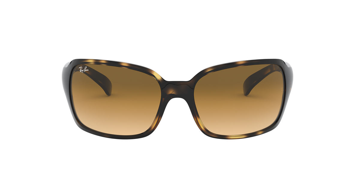RAY-BAN Yellow RB4068 60 Brown lenses 60mm