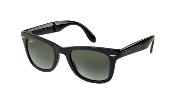 ray ban outlet store malaysia  ray ban rb4105 50 folding wayfarer 50 green & black sunglasses