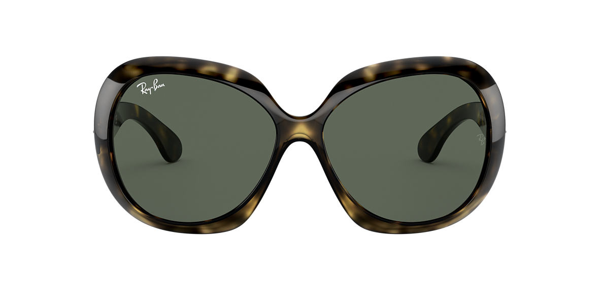 RAY-BAN Tortoise RB4098 60 JACKIE OHH II Green lenses 60mm
