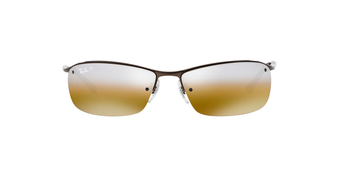 RAY-BAN Brown RB3183 63 Brown polarized lenses 63mm