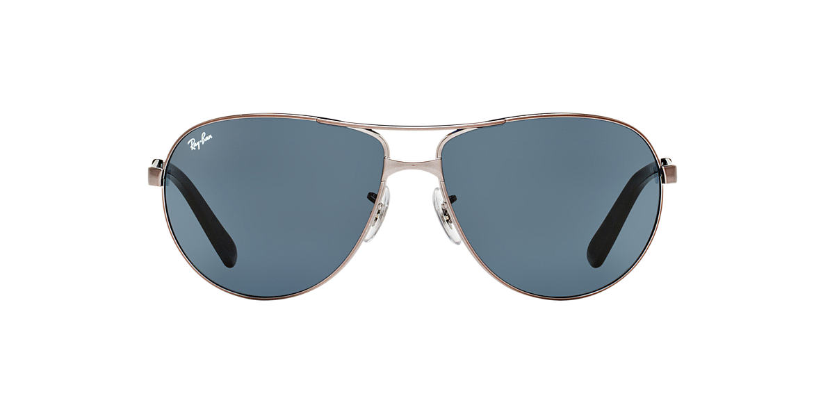 RAY-BAN Gunmetal RB3393 64 Grey lenses 64mm