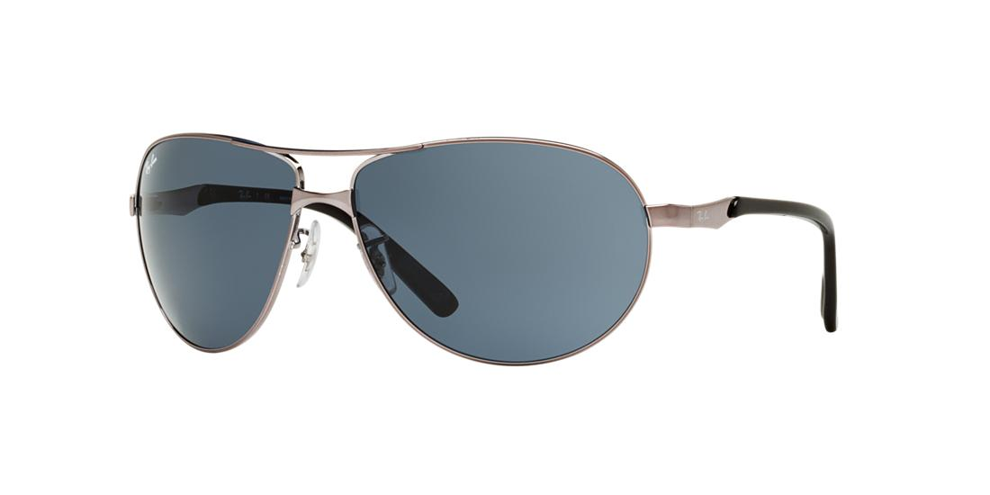 3c576722eaf8 Ray-Ban Gunmetal Aviator Sunglasses - rb3393