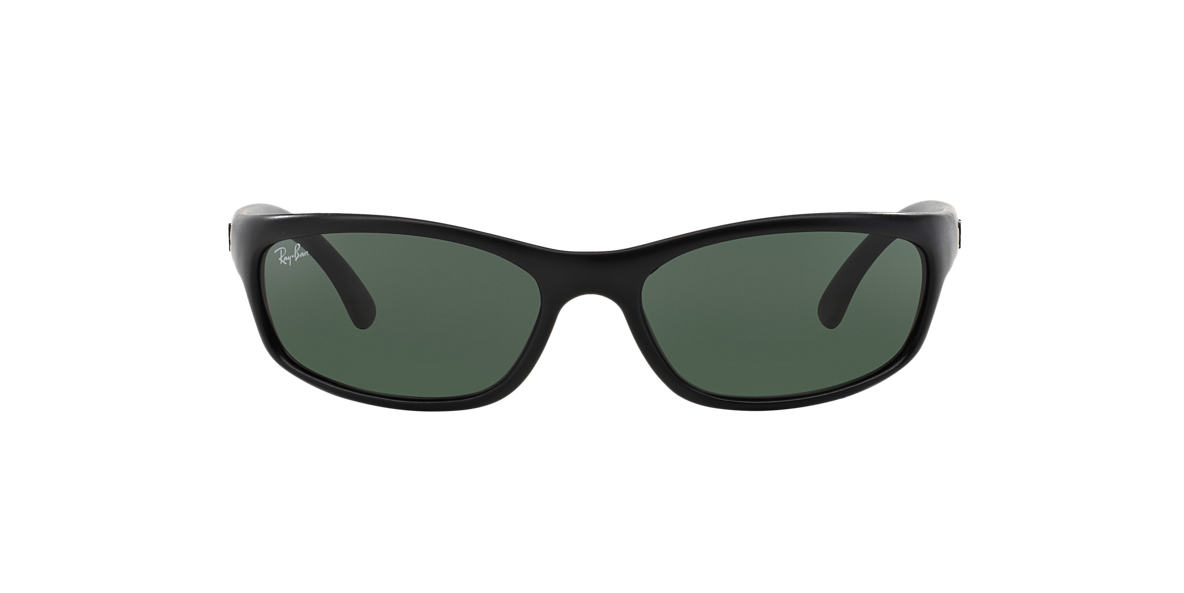 RAY-BAN Black Matte RB4115 57 Green lenses 57mm