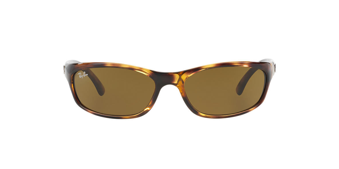RAY-BAN Tortoise RB4115 57 Brown lenses 57mm