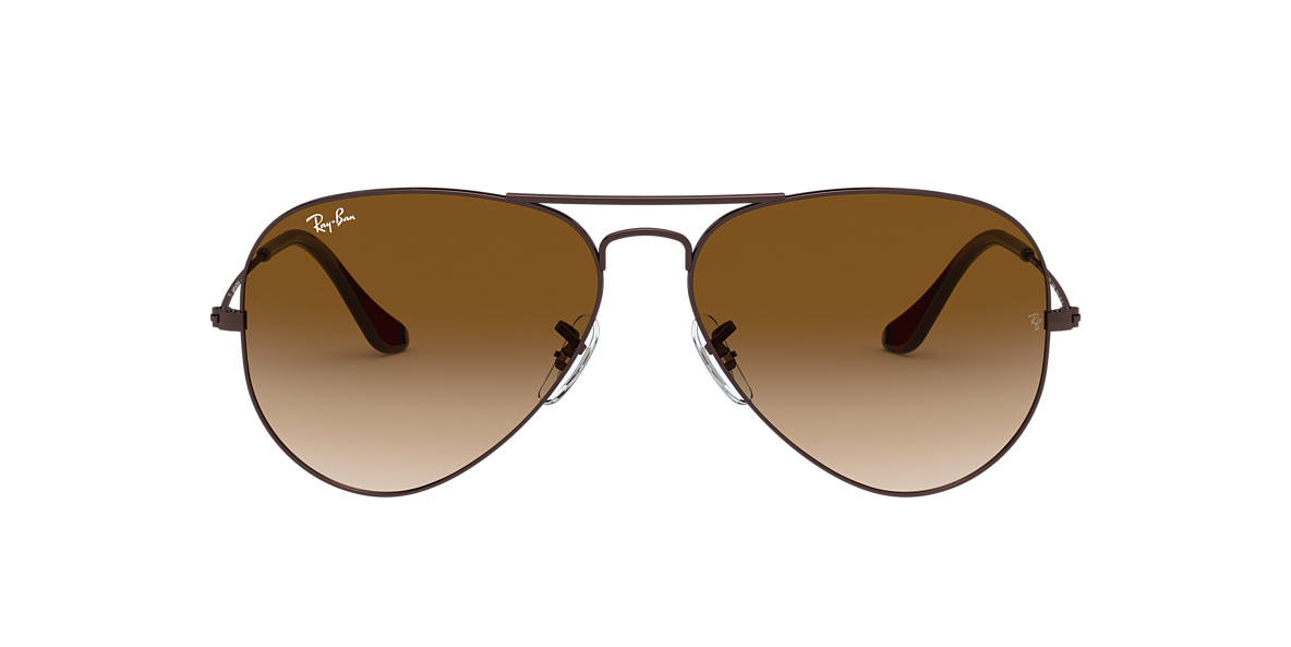 RAY-BAN Brown RB3025 Brown lenses 58mm
