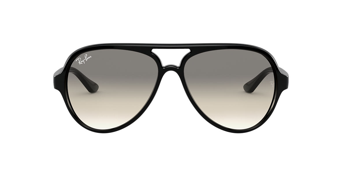 RAY-BAN Black RB4125 59 CATS 5000 Grey lenses 59mm