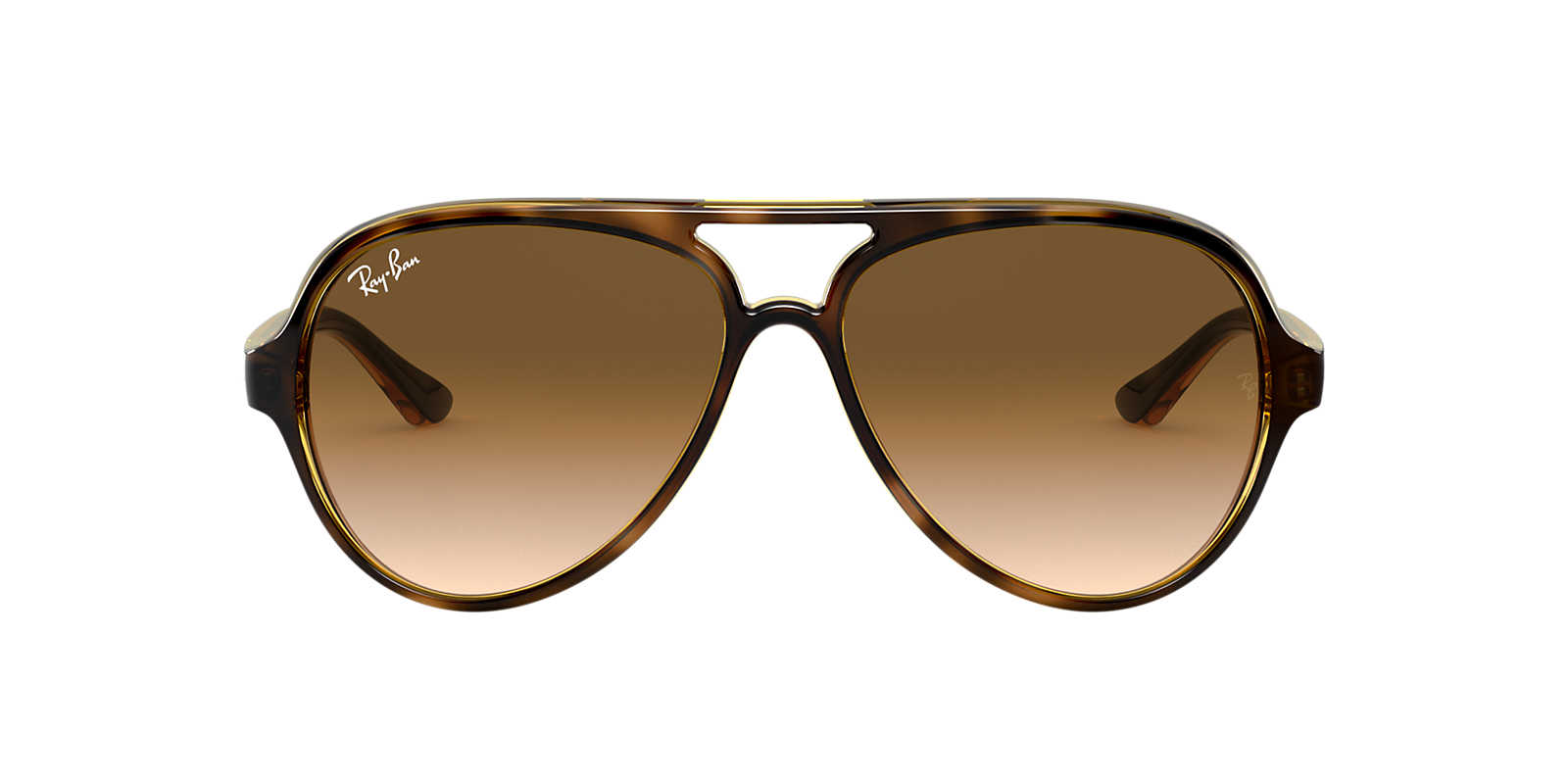 ray ban sunglasses aviator tortoise  ray ban tortoise rb4125 59 cats 5000 brown lenses 59mm