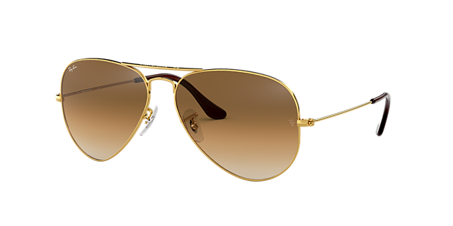 RB3025 58 ORIGINAL AVIATOR £135.00