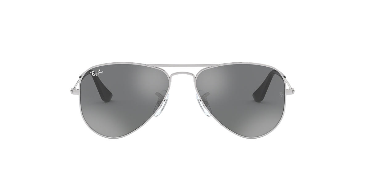 RAY-BAN JUNIOR Silver RJ9506S Grey lenses 50mm