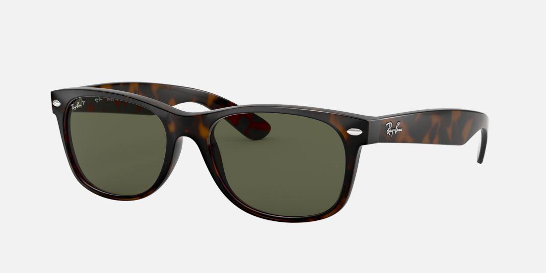 How Do I Know What Glasses Frame Size I Am : Ray-Ban Polarized RB2132 New Wayfarer Sunglasses Tortoise ...