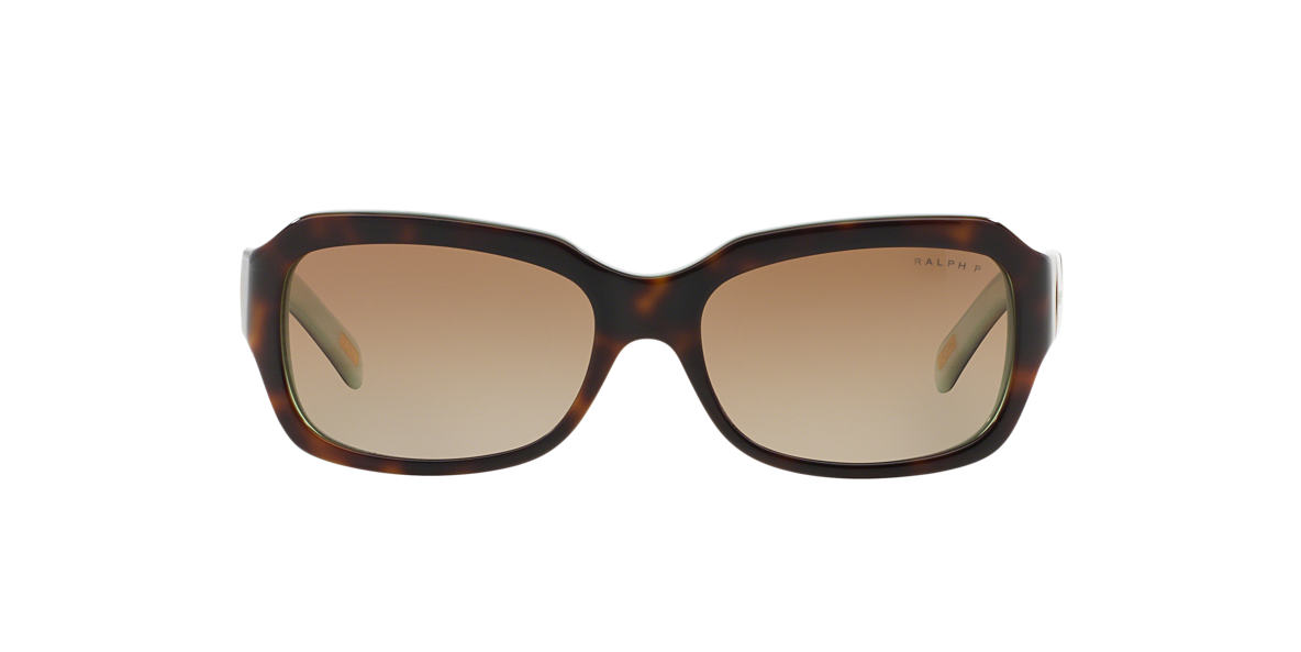 RALPH Tortoise RA5049 Brown polarized lenses 54mm