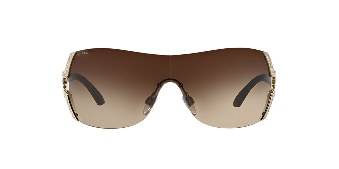 BVLGARI SUN Gold BV6038B Brown lenses 35mm