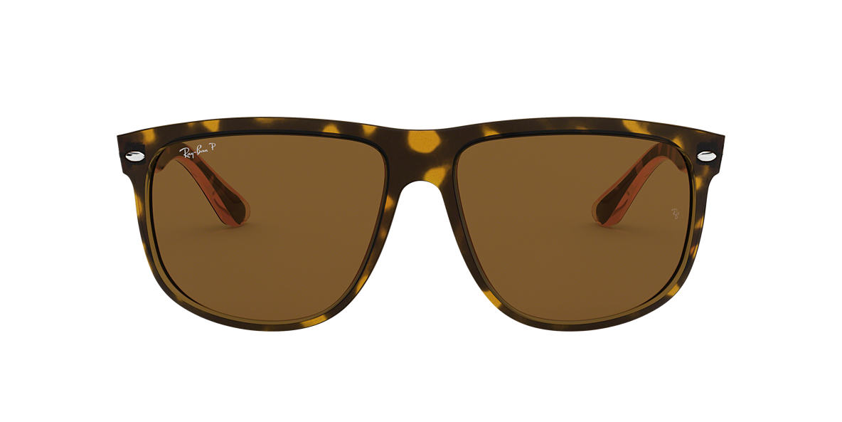 RAY-BAN Tortoise RB4147 Brown polarised lenses 59mm
