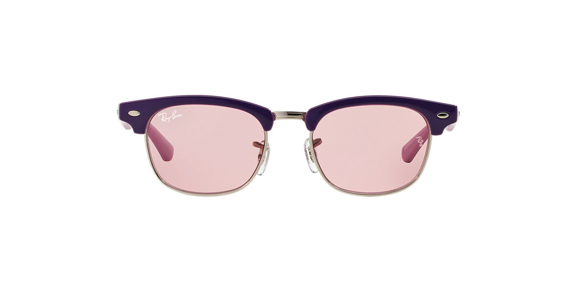 RAY-BAN CHILDRENS Purple RJ9050S Pink lenses 45mm