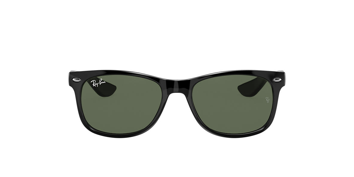 RAY-BAN CHILDRENS Black RJ9052S Grey lenses 47mm