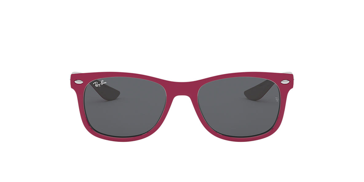 RAY-BAN CHILDRENS Red RJ9052S Grey lenses 47mm