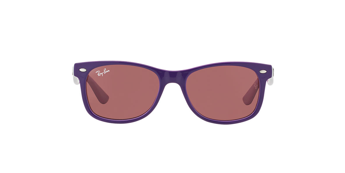 RAY-BAN CHILDRENS Purple RJ9052S Pink lenses 47mm