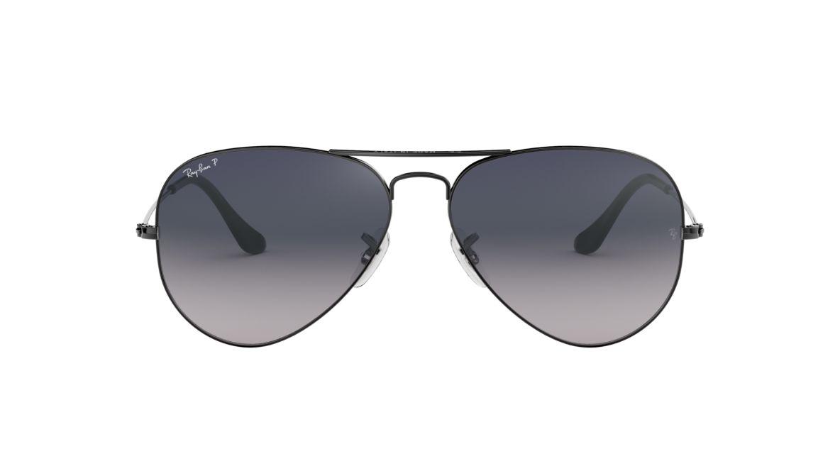 Ray-Ban RB3025 58 58 Grey & Gunmetal Polarized Sunglasses   Sunglass Hut USA