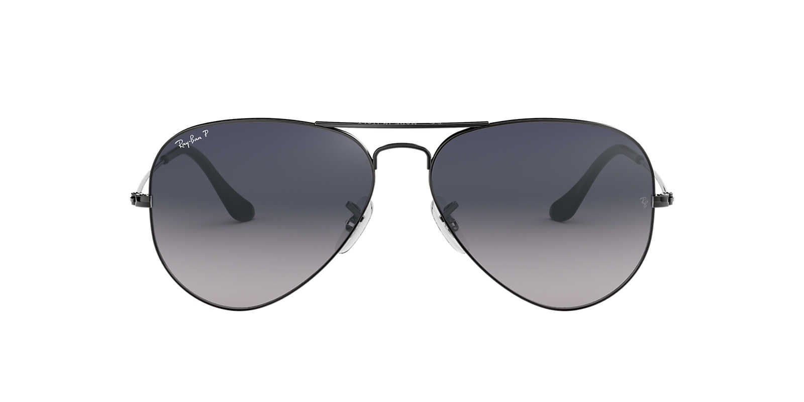 original sunglasses  Ray-Ban RB3025 55 ORIGINAL AVIATOR 55 Blue \u0026 Gunmetal Polarized ...