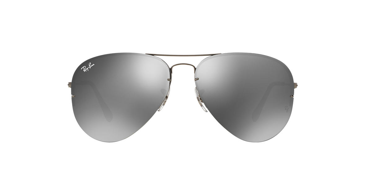 RAY-BAN Gunmetal RB3460 59 Grey lenses 59mm