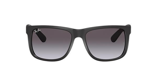 Ray-Ban RB4165 54 JUSTIN 54 Grey & Black Sunglasses