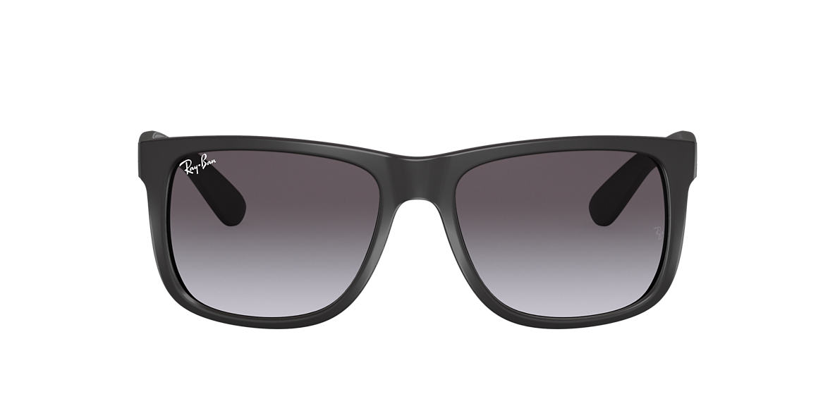 RAY-BAN Black RB4165 54 JUSTIN Grey lenses 54mm