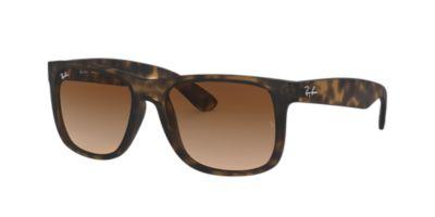 ray ban justin polarized  Ray-Ban RB4165 54 JUSTIN 54 Brown \u0026 Tortoise Sunglasses