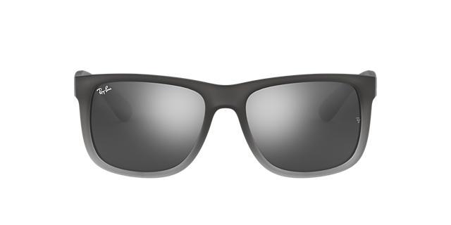blue raybans k176  blue mirror sunglasses ray ban justin