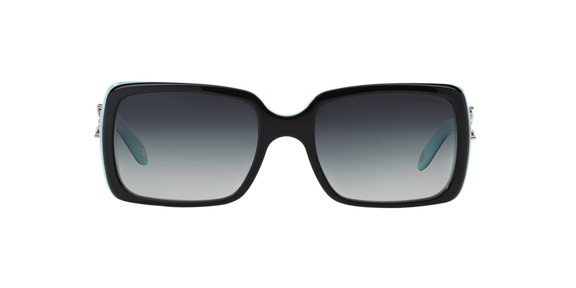 TIFFANY & CO Black TF4047B Green lenses 55mm