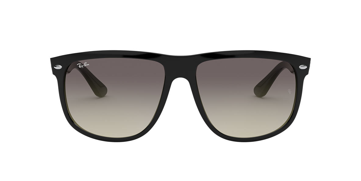 RAY-BAN Black RB4147 Grey lenses 56mm