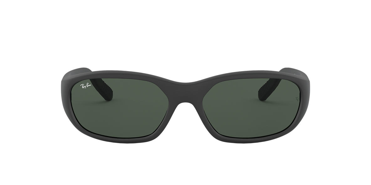 RAY-BAN Black Matte RB2016 Green lenses 59mm