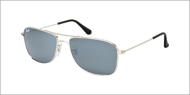 7000b56f02 Ray Ban Sunglasses RB3477 - 003 40 Silver Crystal Gray Mirror Lens - 56mm