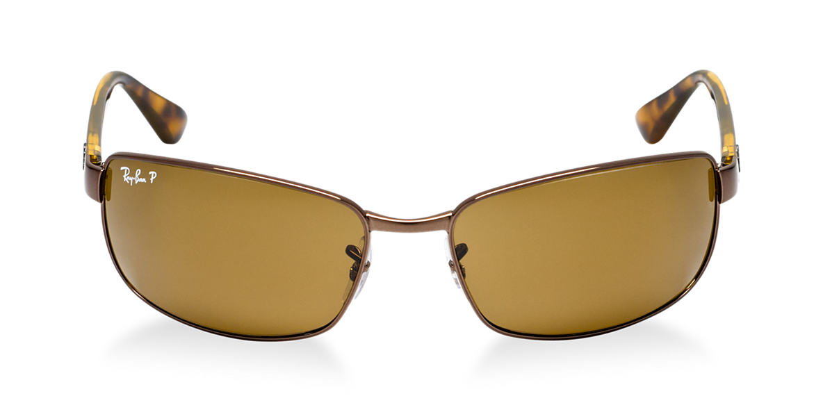 RAY-BAN Brown RB3478 63 Brown polarized lenses 63mm