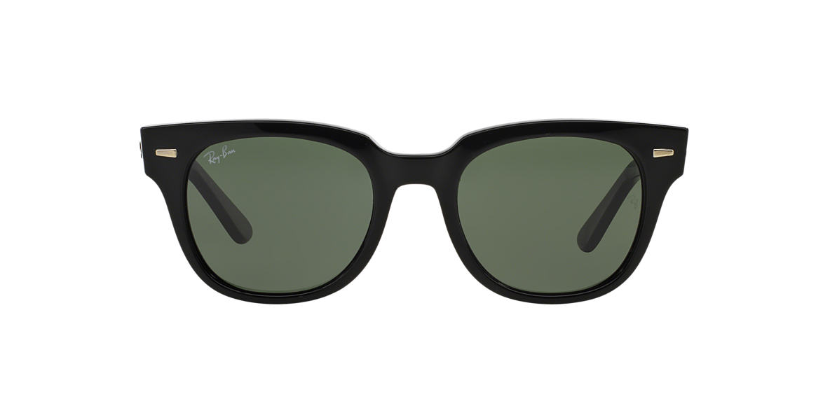 RAY-BAN Black RB4168 50 METEOR Green lenses 50mm