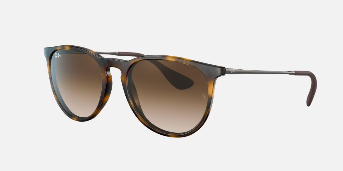 Ray Ban Rb4171 Erika 54 Brown Amp Tortoise Sunglasses