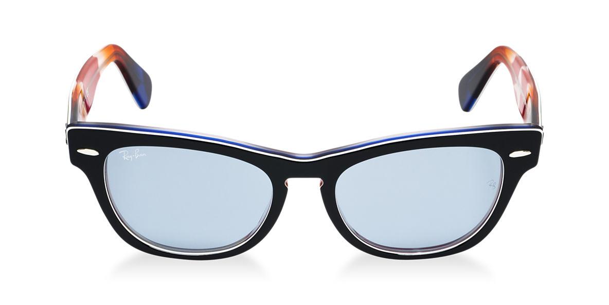 RAY-BAN Black RB4169 53 LARAMIE Blue lenses 53mm
