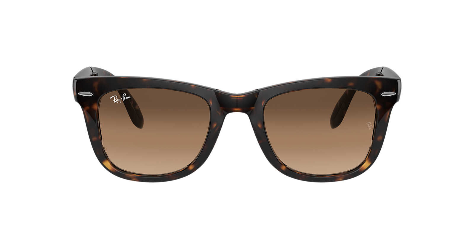 ray ban sunglasses original how to identify rpjh  RAY-BAN Brown RB4105 50 FOLDING WAYFARER Brown lenses 50mm