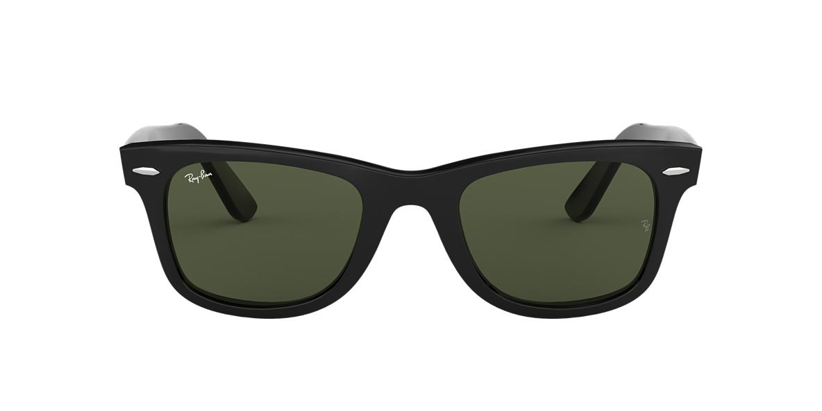 RAY-BAN Black RB2140F Green lenses 54mm