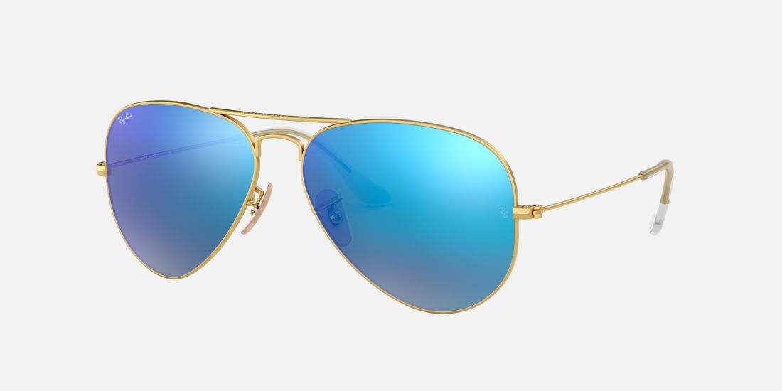 Ray Ban Gold And Blue