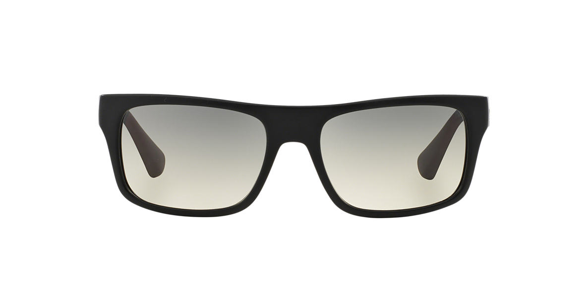 PRADA Black PR 18PS Grey lenses 56mm