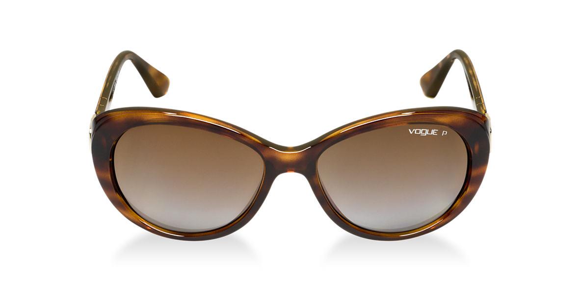 VOGUE LINE Tortoise VO2770S Brown polarized lenses 56mm