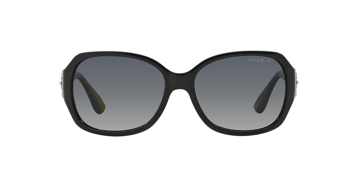 VOGUE LINE Black VO2778SB Grey polarized lenses 58mm