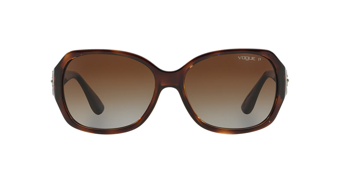 VOGUE Tortoise VO2778SB Brown polarised lenses 58mm