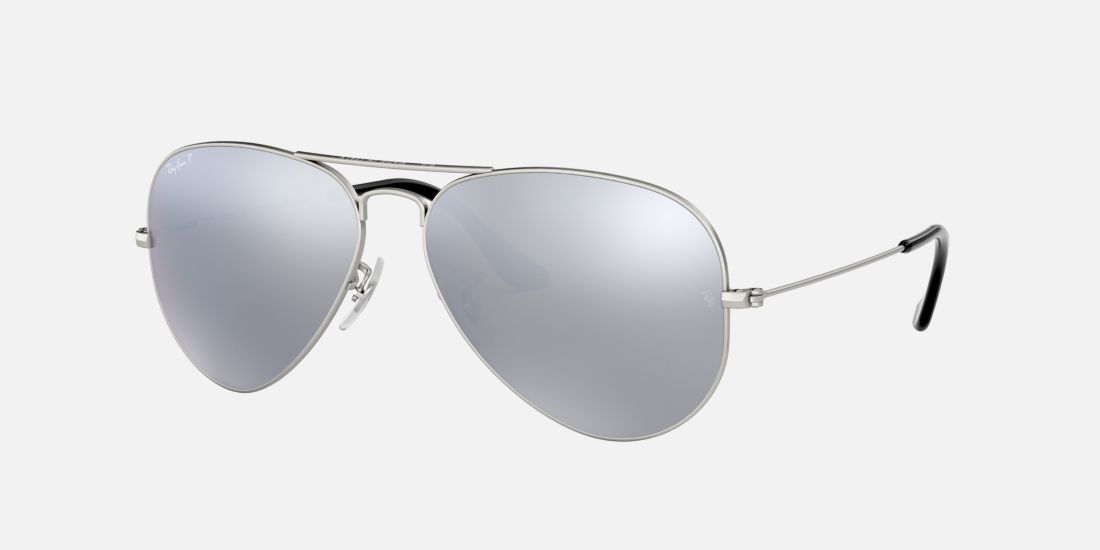ray ban mirror aviator polarized