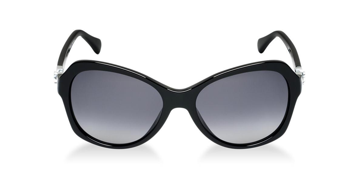 DOLCE and GABBANA Black DG4163P Grey polarized lenses 57mm