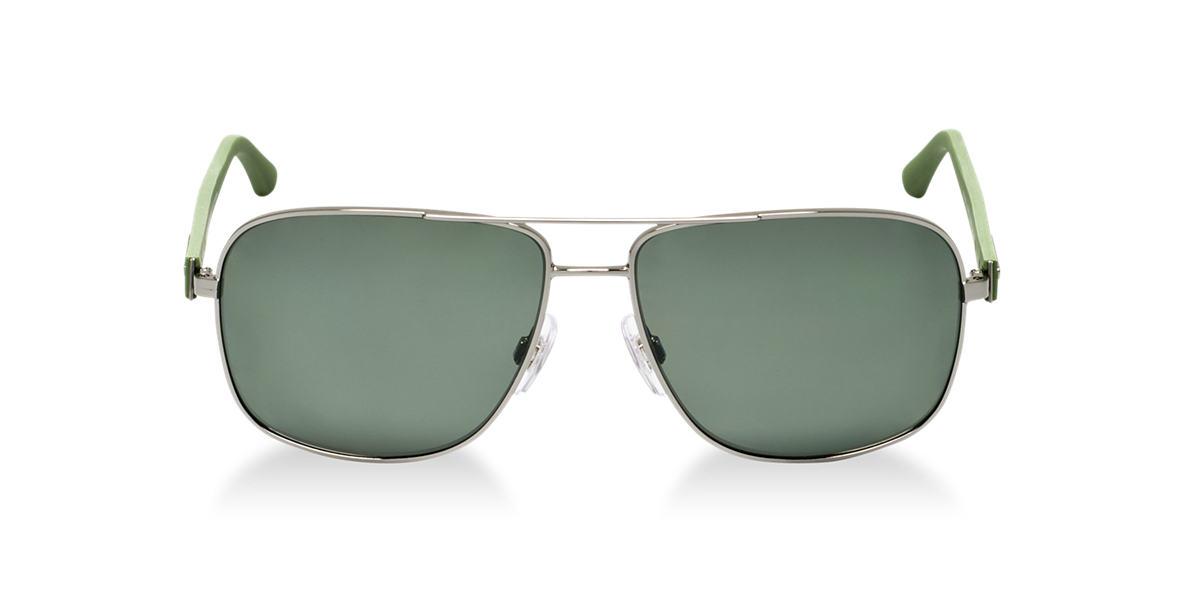 DOLCE and GABBANA Gunmetal DG2122 Green polarized lenses 59mm