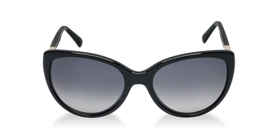 DOLCE and GABBANA Black DG4175 Grey polarized lenses 57mm