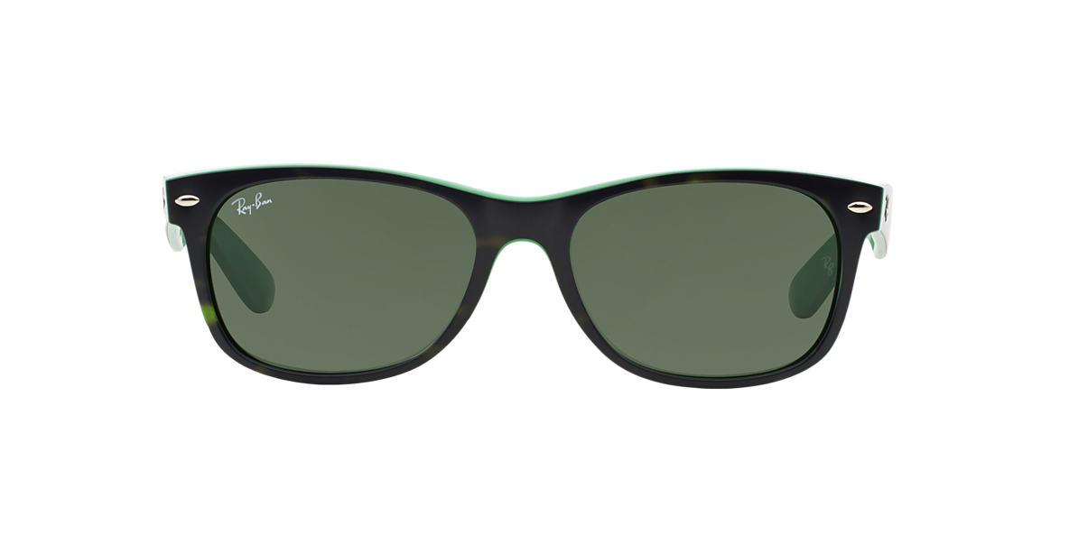 RAY-BAN Green RB2132 55 NEW WAYFARER Green lenses 55mm
