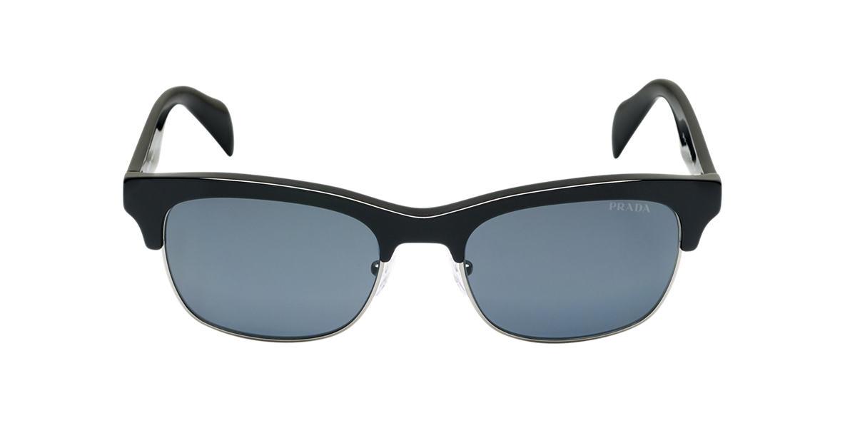 PRADA Black PR 11PS Grey polarized lenses 54mm