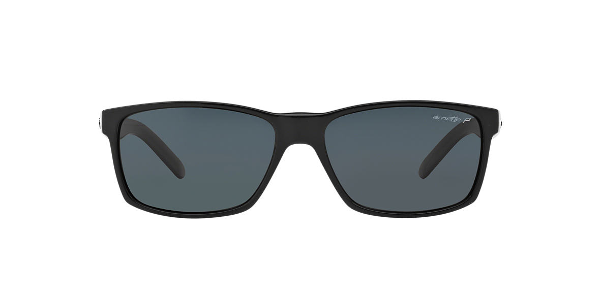 ARNETTE Black AN4185 SLICKSTER Grey polarized lenses 58mm